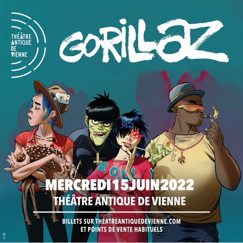 @gorillaz's photo on ON SALE NOW