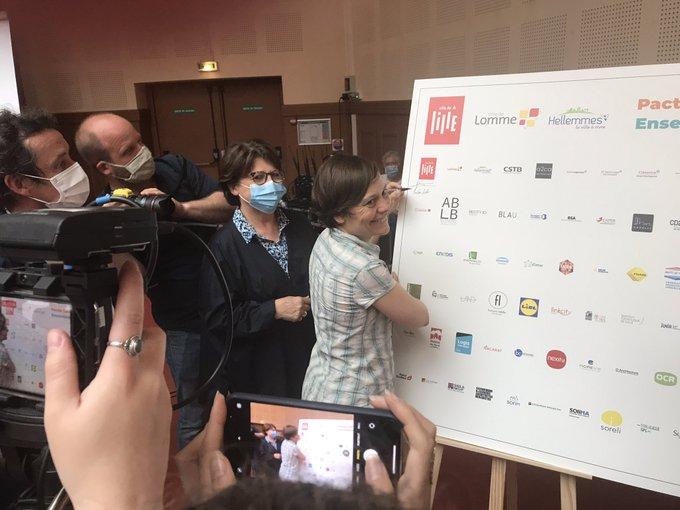 Signature aujourd'hui du Pacte Lille Bas Carbone : 150 nouvelles exigences à respecter lors d....