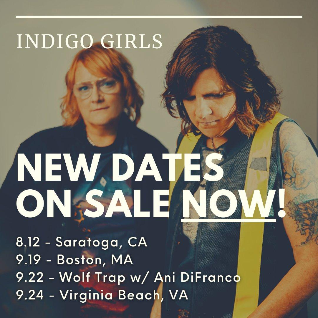@Indigo_Girls's photo on ON SALE NOW