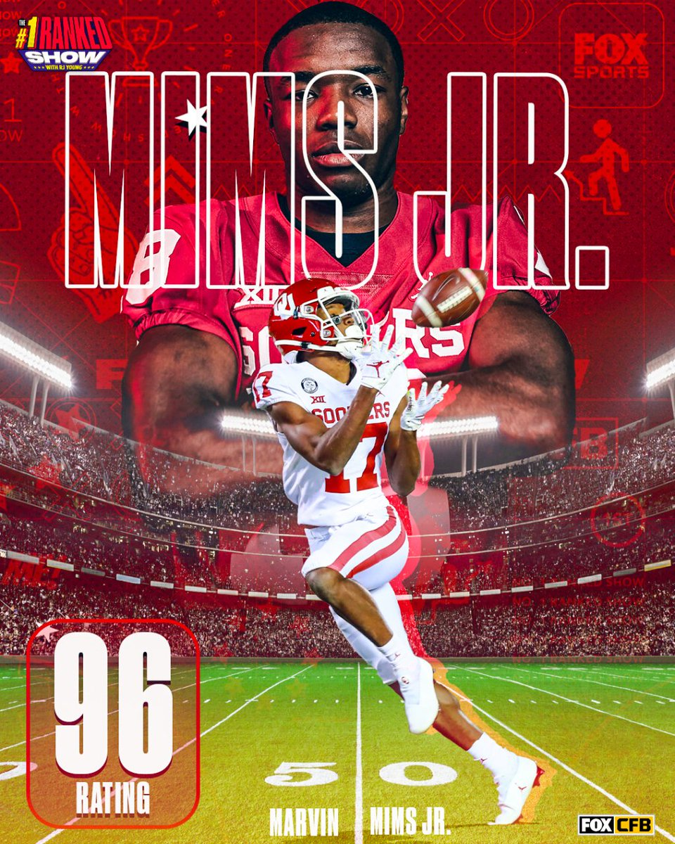 I have been a Marvin Mims fan for three years.   He's kind. He's smart. He's thoughtful, and he's one of the best wide receivers in the sport. #Sooners https://t.co/UUXwxBqFhm