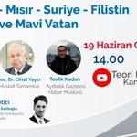 Image for the Tweet beginning: Yarın @Dogu_Perincek, Cihat Yaycı ve