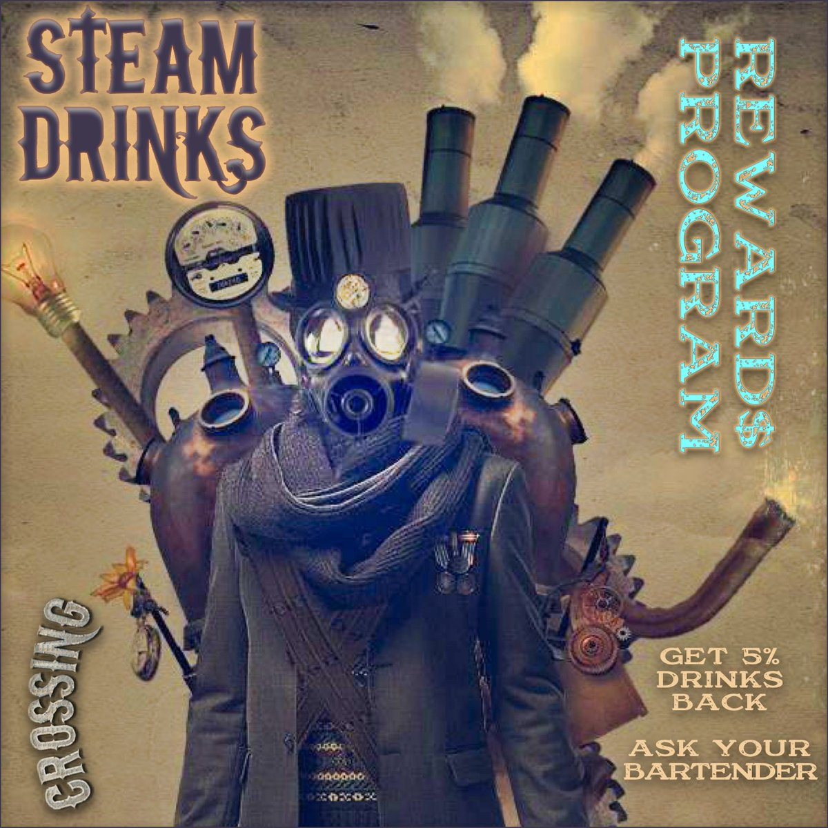 There's a reward program for cocktails? Yes! Here's a program you're sure to love: earn drinks back. That's right, get 5% drinks back on your drinks. Ask your bartender for more info. https://t.co/oJIO3LIseF #Steampunk #VideoBar #Gay #Str8friendly #FrenchQuarter #CrossingNOLA