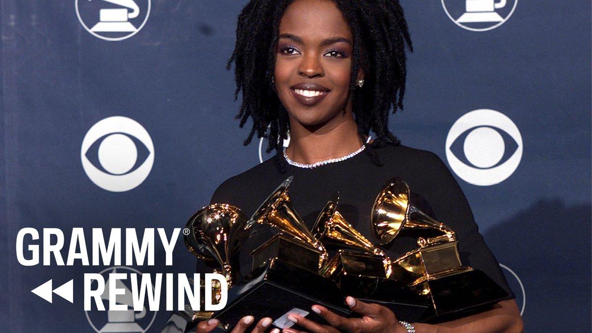 #GRAMMYRewind 🎶 Watch #LaurynHill win Best New Artist & quote scripture in 1999: https://t.co/vQf1YPYkUP #BlackMusicMonth https://t.co/RfkrLexRqd