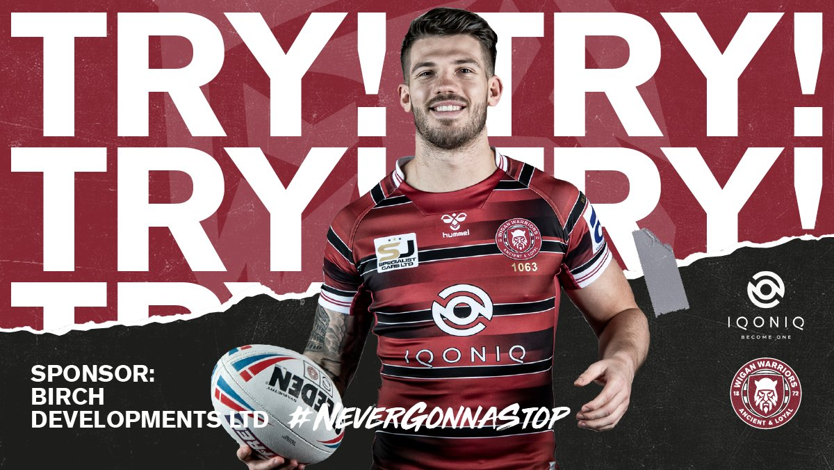 70' TRYYYYYYYYYY!!!! COME ON WIGAN!!!!  Brilliant play once more down the left as a kick over the top from @harrytsmith7 finds @LiamMarshall20 who assists @OliverGildart3!   Smith's kick goes wide of the post.   🍒⚪️ 8-12 🐦  #SLWIGHKR #WWRL