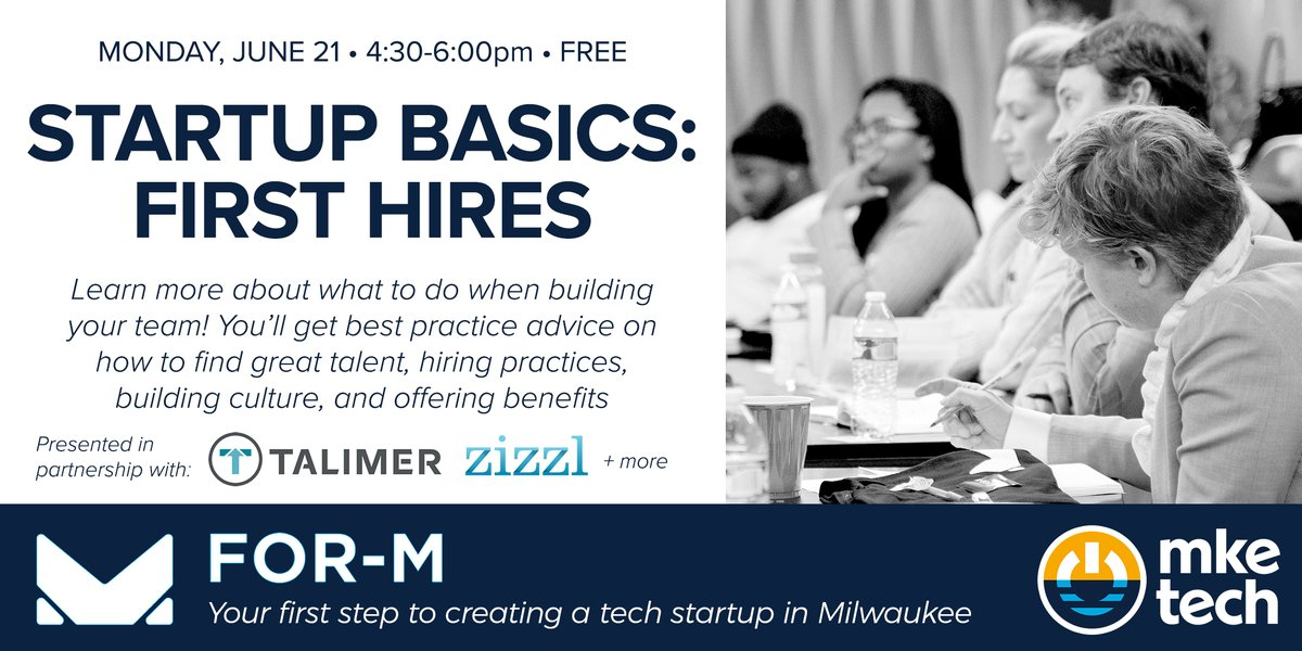 There's still time so save yourself a seat!  #mketech