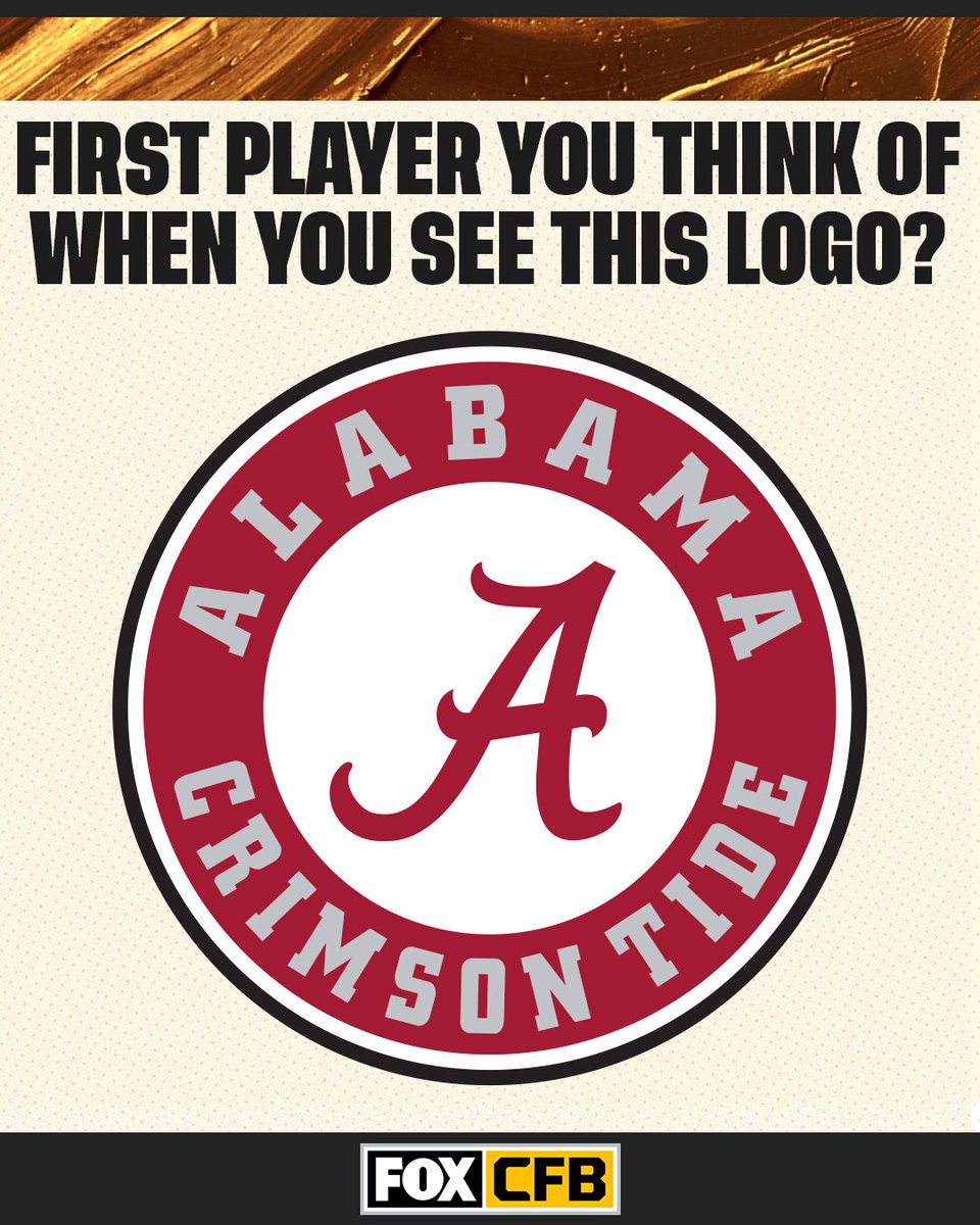 Who is the first player you think of when you see @AlabamaFTBL's logo? 🤔🐘 https://t.co/Ov8vYV17KM