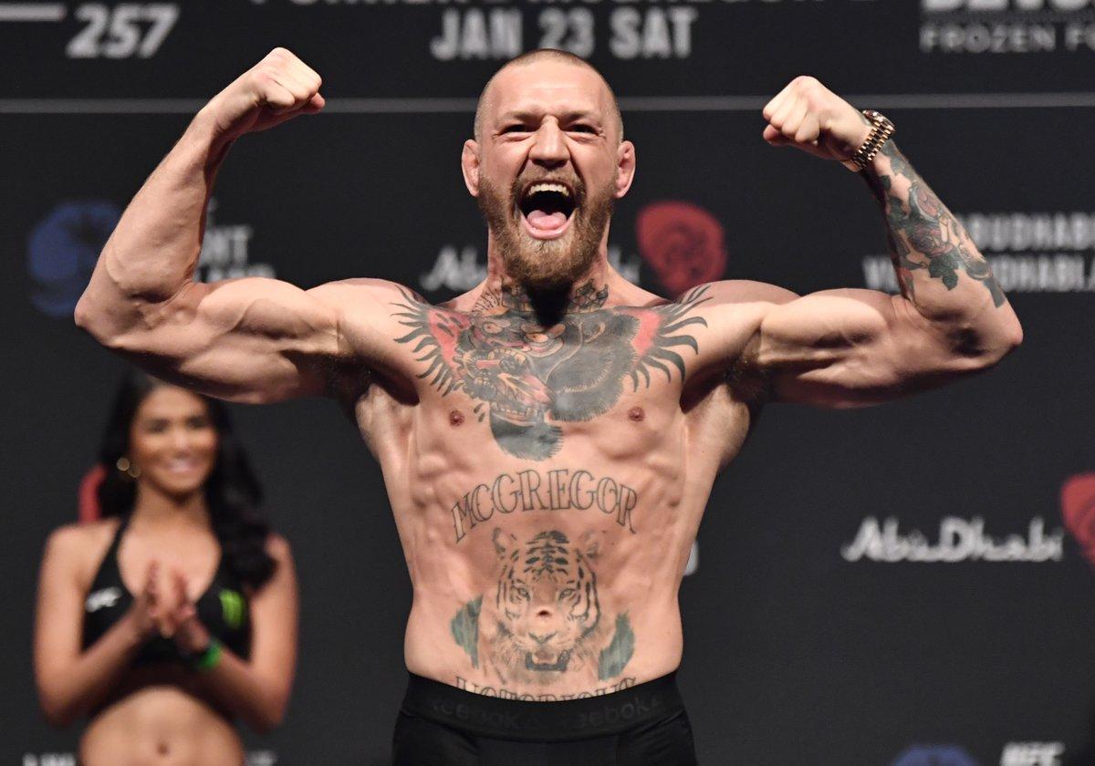 Three. Weeks. #UFC264  [ @TheNotoriousMMA ] https://t.co/IWec5TOnFi