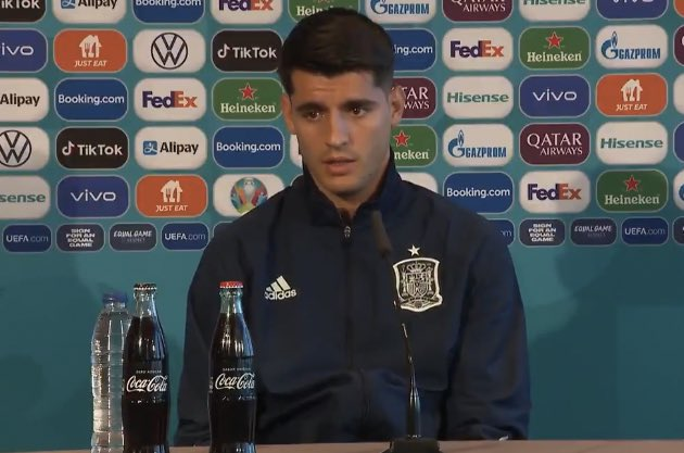 ألفارو موراتا [:أشعر أنني بحالة جيدة. أعتقد