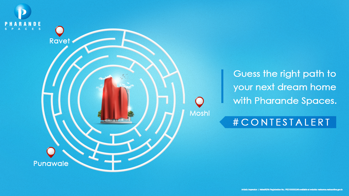 #ContestAlert Open new doors with us and discover an extraordinary living experience with Pharande Spaces. Guess the right path and comment below with your answers to win exciting prizes. Don't forget to follow us!  #PharandeSpaces #NewPhase #ProjectLaunch #RealEsate #Moshi #Pune https://t.co/RDEflLFrDM