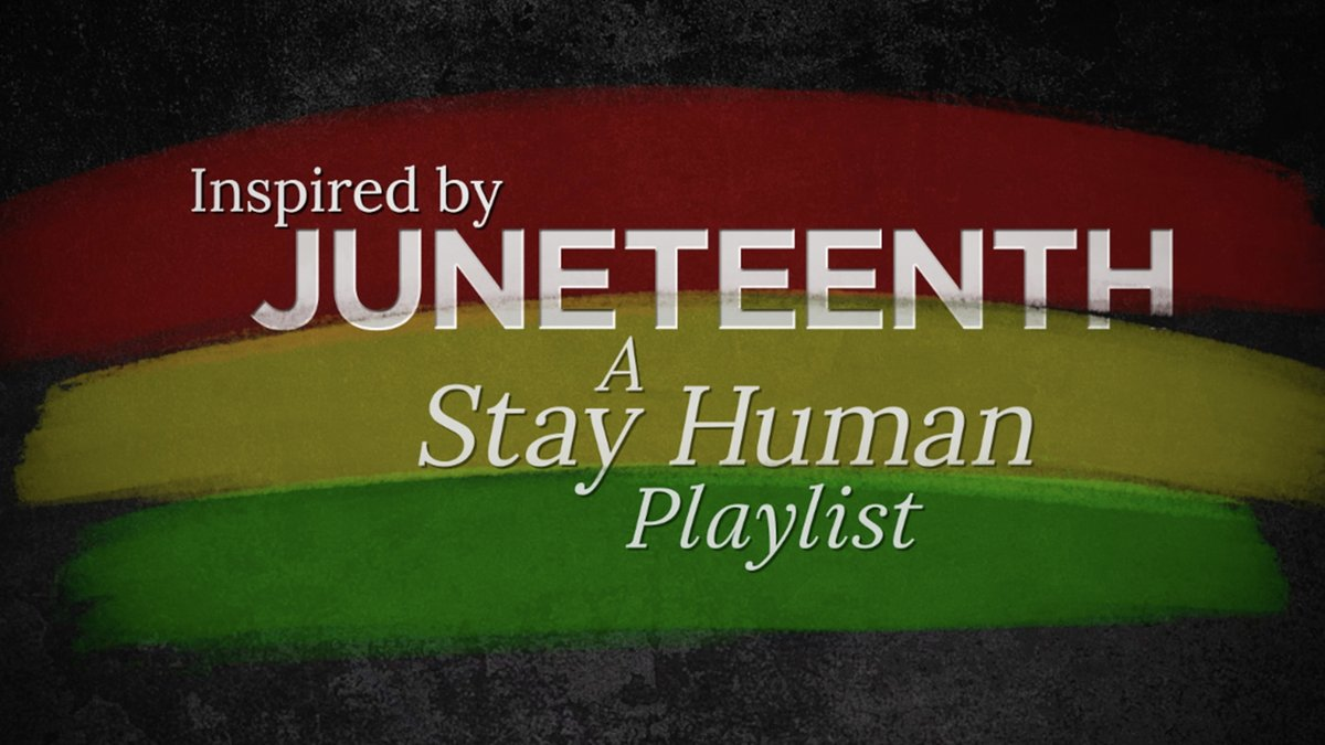 """Join @EOwensOnBass @LouisFouche @JonLampleyMusic & @realLouisCato as they harness the power of music to reflect on America's new national holiday. Hear their stories then listen to their song picks on the """"Inspired by Juneteenth"""" playlist https://t.co/K94pNITPRx https://t.co/42GX93gHJ1"""