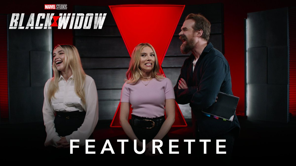 .@DavidKHarbour + Dad Jokes = 😂 Marvel Studios' #BlackWidow is now available for tickets and pre-orders. Experience it July 9. https://t.co/cWeQKLS0qL https://t.co/S48CMA8O5m
