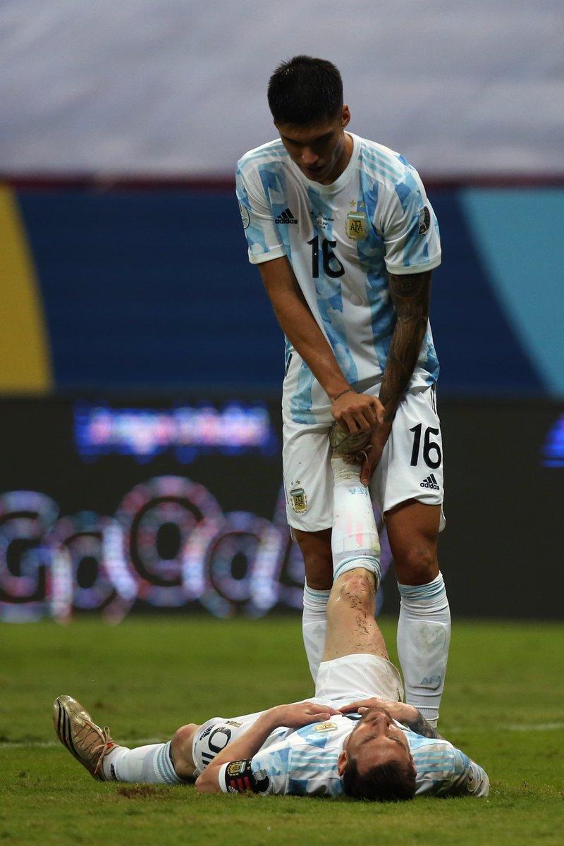 "TyC Sports on Twitter: ""Dejar todo en la cancha nivel: LIONEL ANDRÉS MESSI.… """