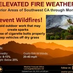 Image for the Tweet beginning: Fire Weather continues for Interior