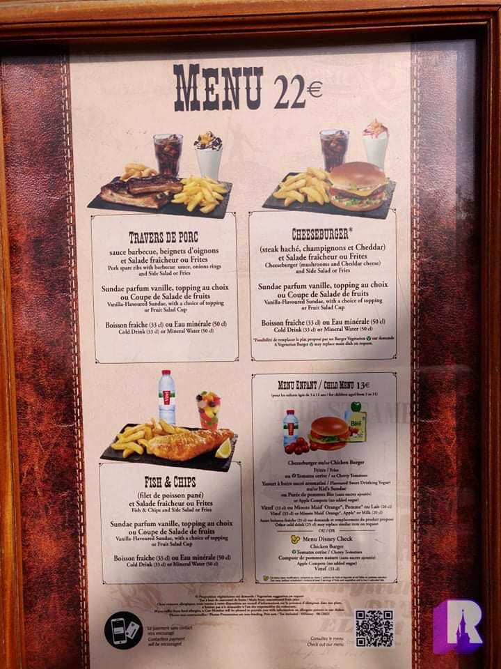 🍽 Silver Spur Steakhouse is back open today for the first time since March 2020! But the location is not offering its usual menu, only the same €22 menus as The Lucky Nugget. This is likely a temporary solution to increase the overall restaurants capacity: https://t.co/l85P26f6nt
