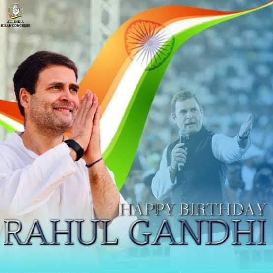 Happy_ Birthday    Rahul Gandhi Sir jii. Bundi Rajasthan India