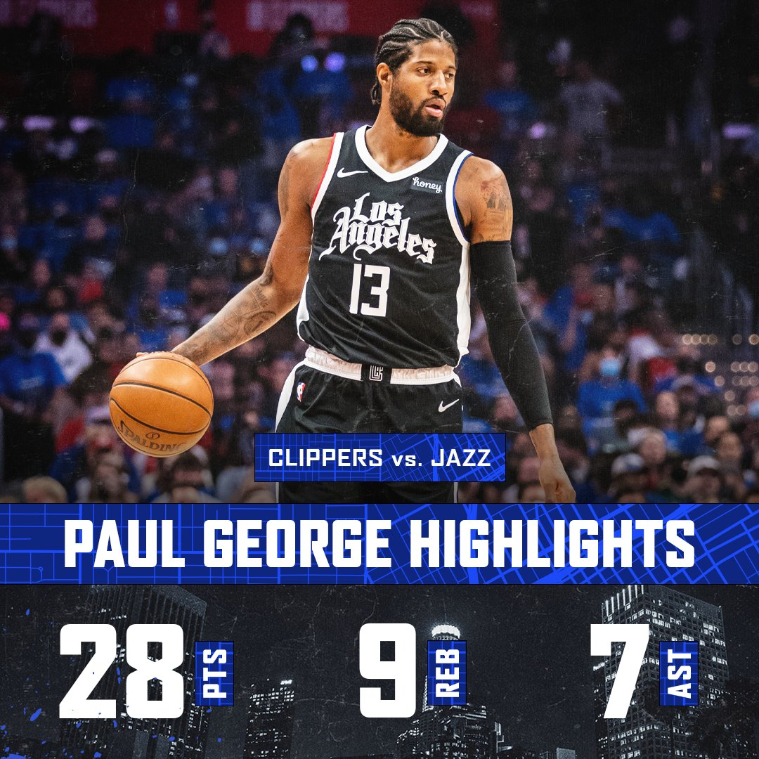 📊 28 PTS / 9 REB / 7 AST / 3 STL  A determined effort from @Yg_Trece https://t.co/ybZadjkpC0