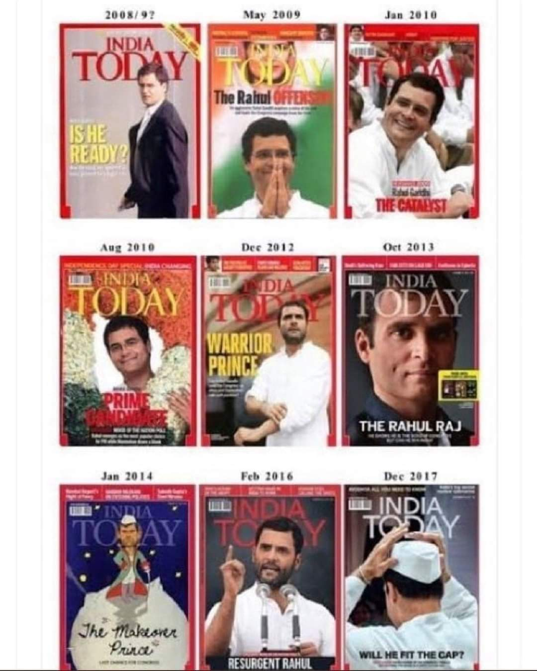 Happy Birthday Rahul Gandhi Prince of India .  Launched and Relaunched So Many Times Since 2004