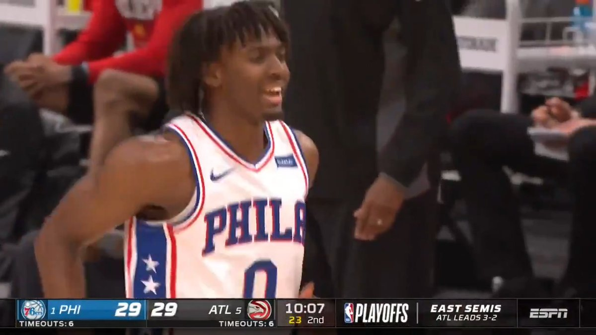 🔌 @TyreseMaxey's #NBAPlayoffs career-high 16 points provided a spark off the bench for the @sixers as they force GAME 7! #ThatsGame   ⌚️ Sunday, 8pm/et on TNT https://t.co/xV9vBsTJLe