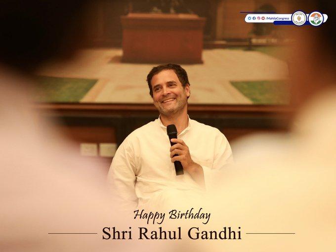 Happy Birthday Rahul Gandhi avre, the hope of this country