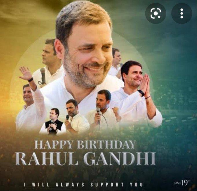 Happy Birthday Rahul Gandhi Sri