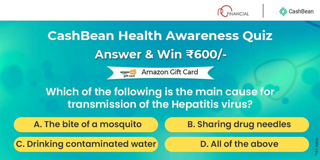 Win exciting #amazongiftcard daily with #CashBean Comment below with the right answer. #Retweet and share, make sure you follow us here! #contestalertindia https://t.co/igNnnmLv5c
