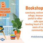 Image for the Tweet beginning: Happy #IndieBookshopWeek!  A week to celebrate