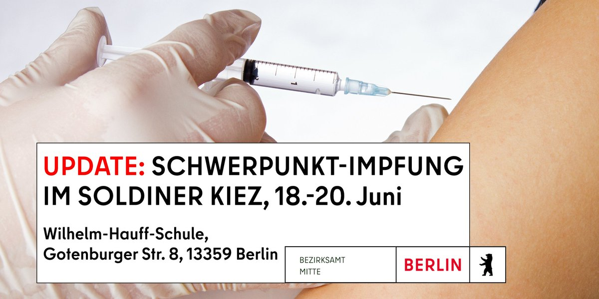 Wer will noch? Wer hat noch nicht? #Berlin #Impfung #covid19