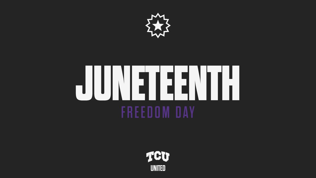 Celebrating freedom. Striving for an equal future.  #Juneteenth https://t.co/X9AJ4HOmao