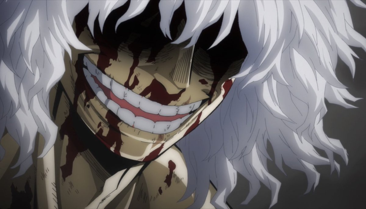 my hero academia tomura shigaraki white hair