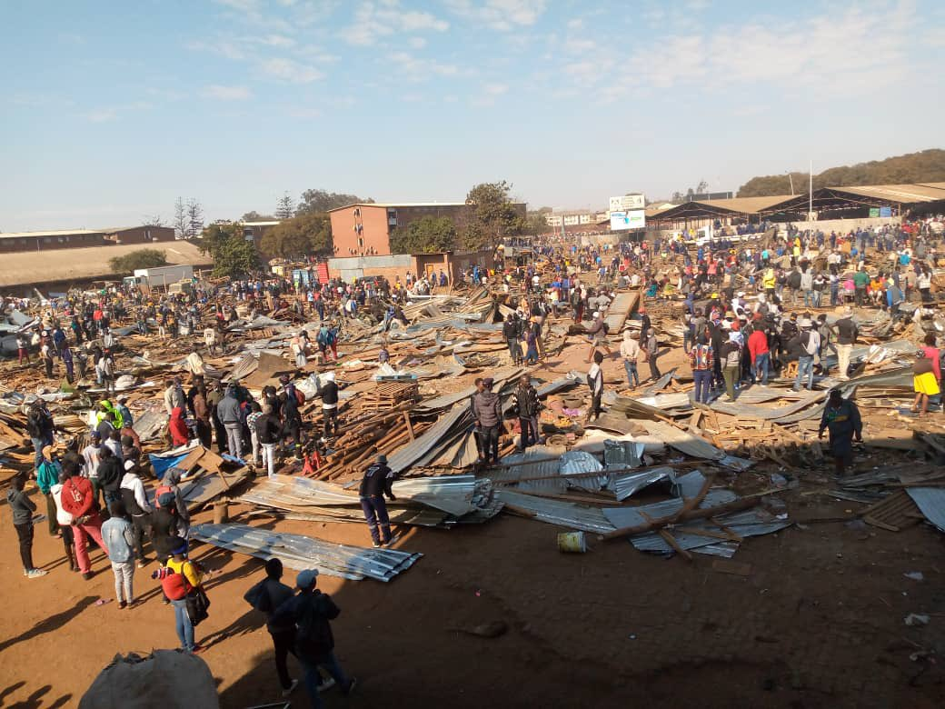 Council Destroys Mbare Market Stalls
