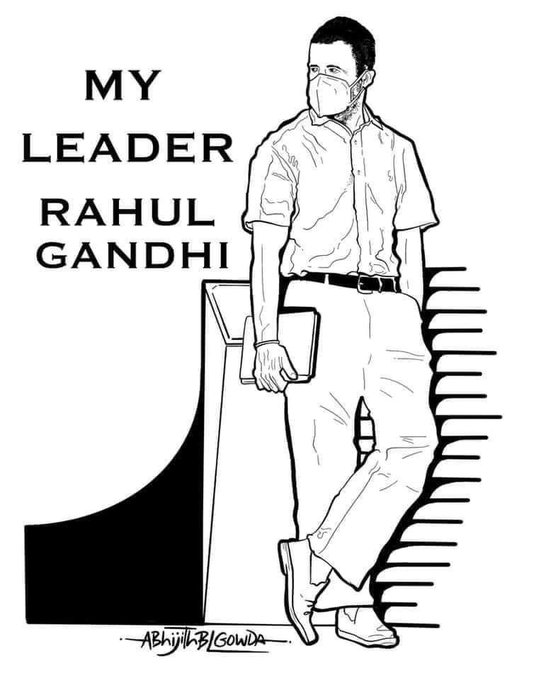 Beautiful picture by Abhijit BL Gowda. Happy Birthday Rahul Gandhi Ji.