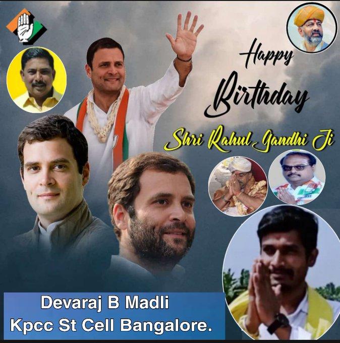 *Happy Birthday Rahul Gandhi jii*