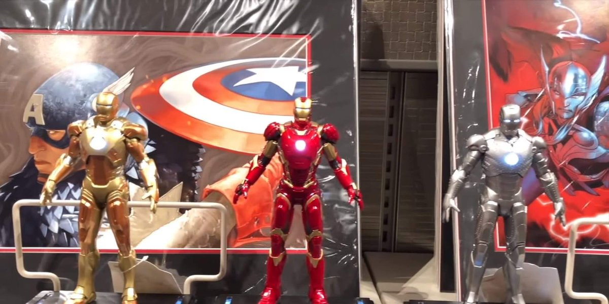 🛍 Exclusive merchandise at Disney's Hotel New York - The Art of Marvel will also include replicas of the lobby's Iron Man Armors, figurines, and collectible art prints such as the Spider-Man Suite design: https://t.co/dNOgVc8PzN