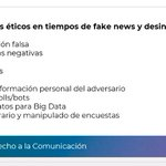 Image for the Tweet beginning: La cuestión ética en la