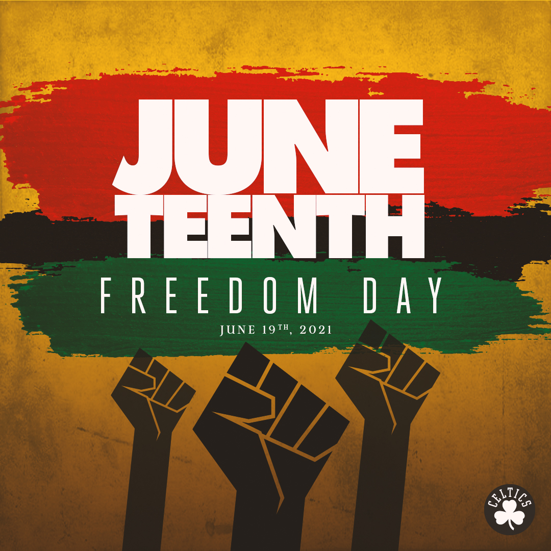 Today we are proud to observe and celebrate #Juneteenth, commemorating the ending of slavery in the United States on June 19, 1865 – two and a half years after the Emancipation Proclamation. https://t.co/EOYPXds40C