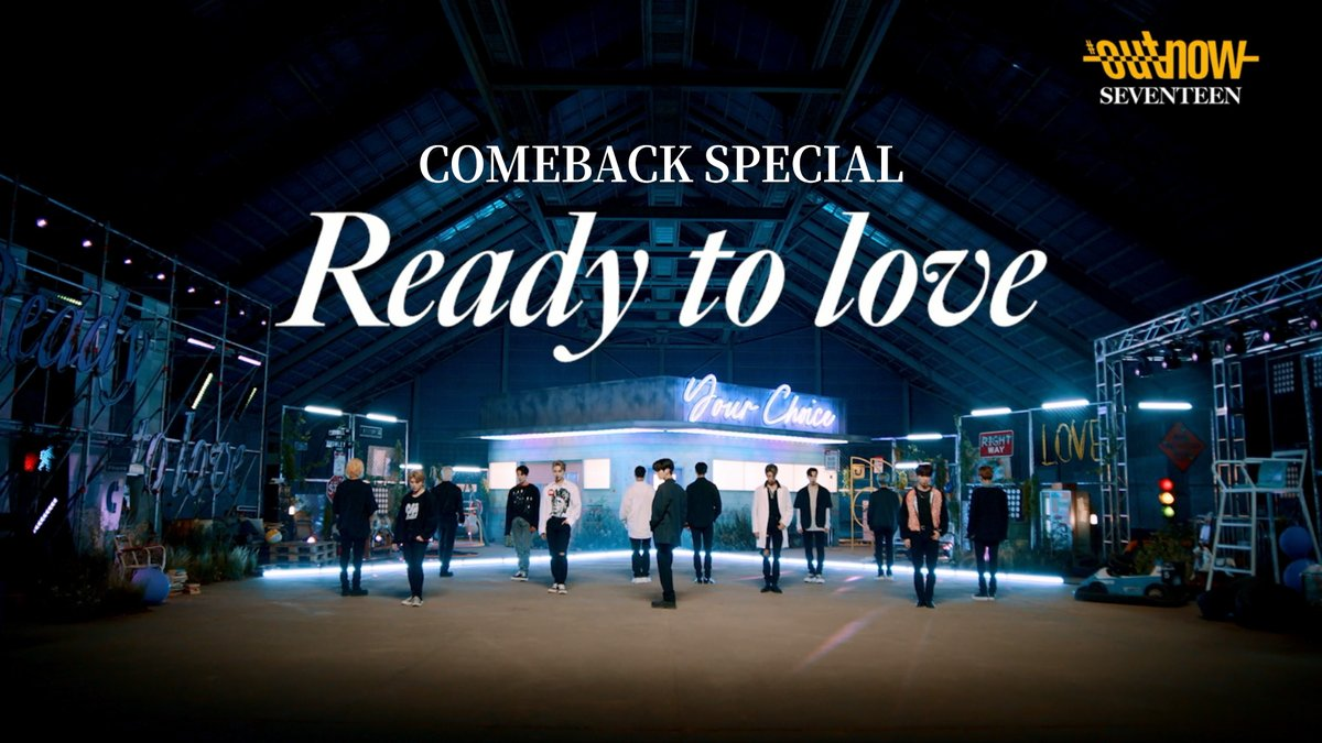 SEVENTEEN (세븐틴) #OUTNOW COMEBACK SPECIAL  ▶ https://t.co/ENypY8aAJA  #SEVENTEEN #세븐틴 #Your_Choice #Ready_to_love #SVT_Ready_to_love https://t.co/3Pj974HhuA