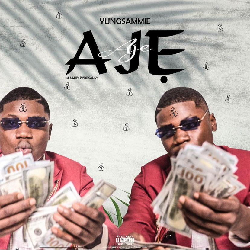 New one from Yungsammie called AJE. He did this thing 🔥  Go check it out: https://t.co/1ymawEnuwr https://t.co/M6Oov9IlMP