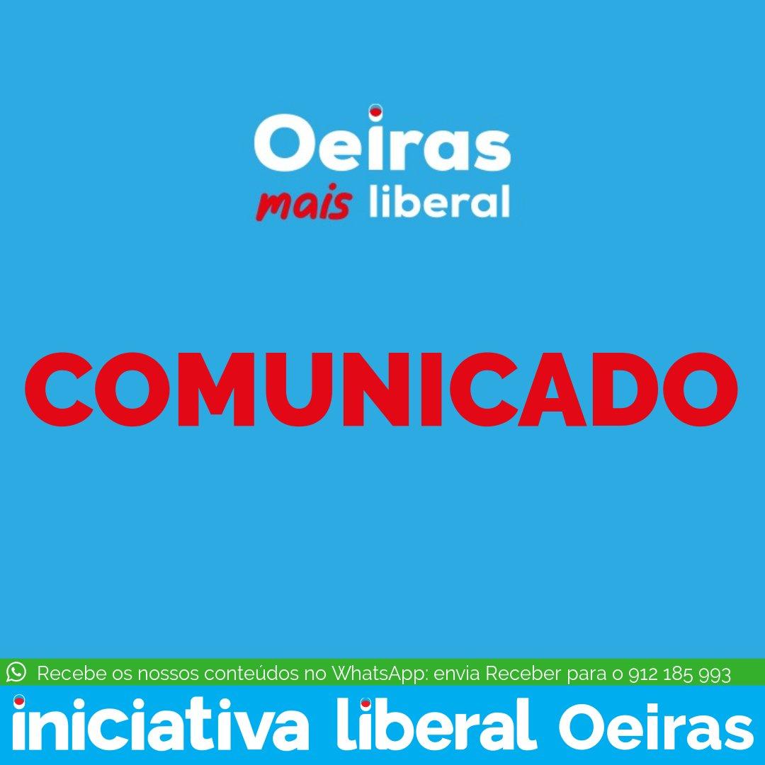 Os candidatos da Iniciativa Liberal da AML vêm por este meio condenar a cerca sanitária feita à região, manifestando-se contra mais uma medida desproporcional e restritiva das liberdades dos portugueses imposta pelo executivo socialista.  #LibertarAML #OeirasMaisLiberal https://t.co/GnD9ElA0Tw