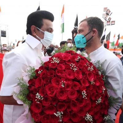 Stalin wishes his \beloved brother\ Rahul Gandhi Happy Birthday -
