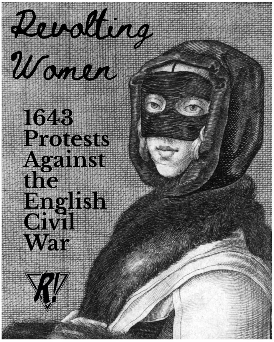 Revolting Women - 1643 Protests Against the English Civil War [1/4]  #history #england #uk #protests #protest #zine #protesthistory #revoltingwomen #revolution #acab #wencenslausholler #civilwar #womenshistory #feminism #feminist #feministhistory #fightthepower #lithography https://t.co/AGNhXM0KXV