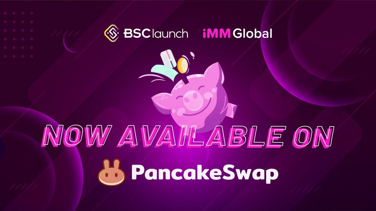 $iMM IS NOW LIVE ON PANCAKESWAP! ✅ https://t.co/cdHCUxHnND