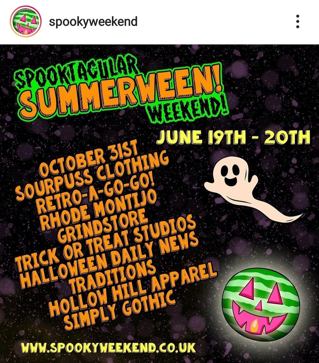 Check out @SpookyWeekend Spooktacular Summerween Weekend for the best Halloween sales, deals, discounts, giveaways, and prizes for the next two days!  @ #spookyweekend  #october31st #Halloween #halloweenlovers  #summerween #Halloweengiveaways #giveaway  #prizes  #sales https://t.co/JkcgOV7Adv