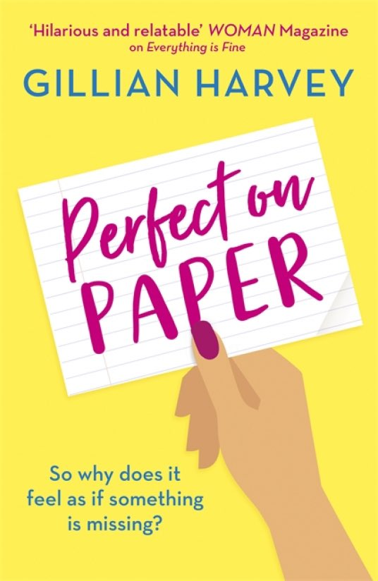 📒#Giveaway📒 Our July readalong book in #TheMotherloadBookClub on Facebook is #PerfectOnPaper by @GillPlusFive.  We have *five* copies to give away to those who want to take part in our #readalong! Closes 21 June at 8pm. UK addresses only.  Enter here: https://t.co/mQD2y1QSZo https://t.co/uQp8prgREt