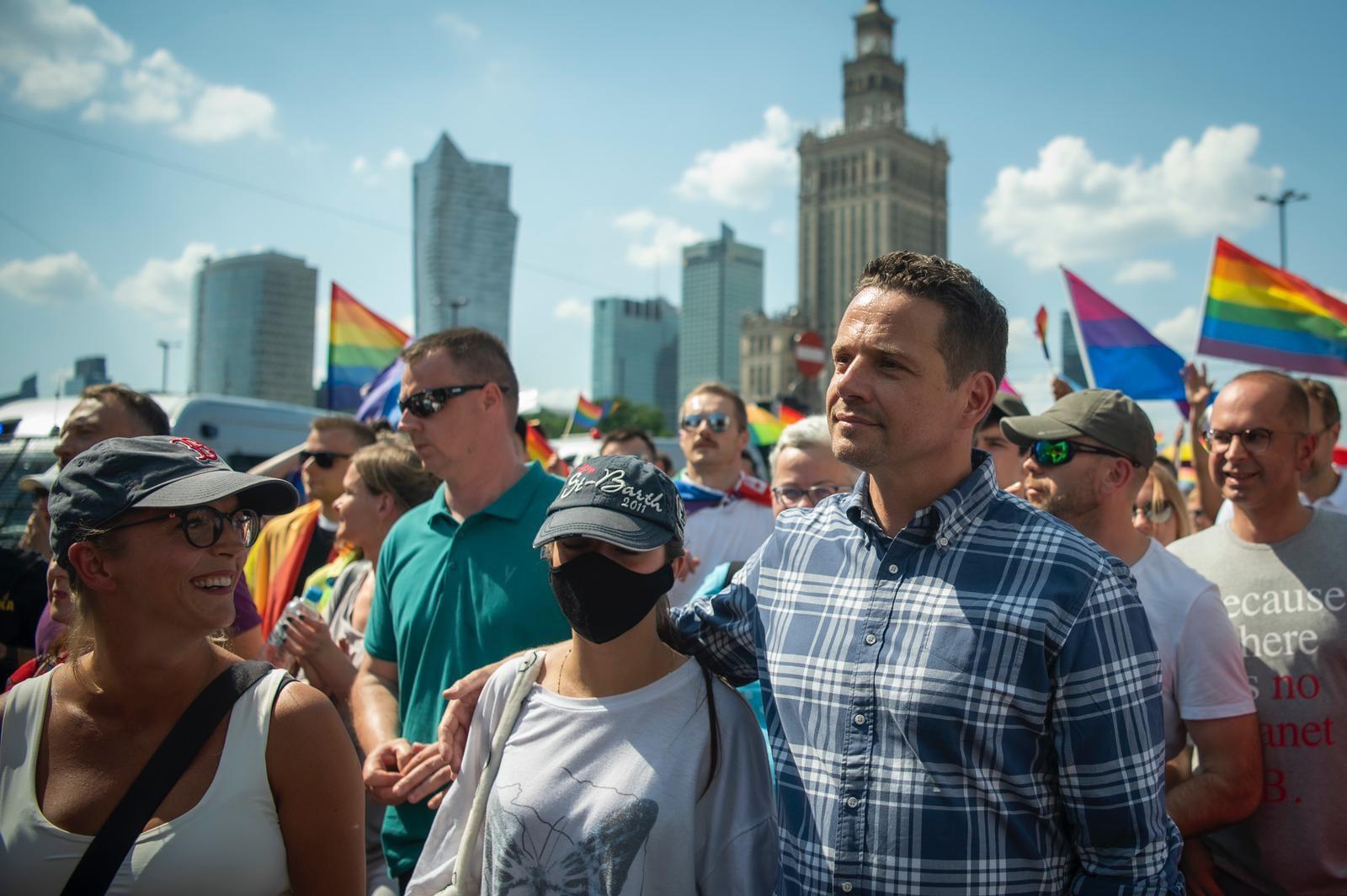 У Варшаві спокійно пройшов Марш Рівності