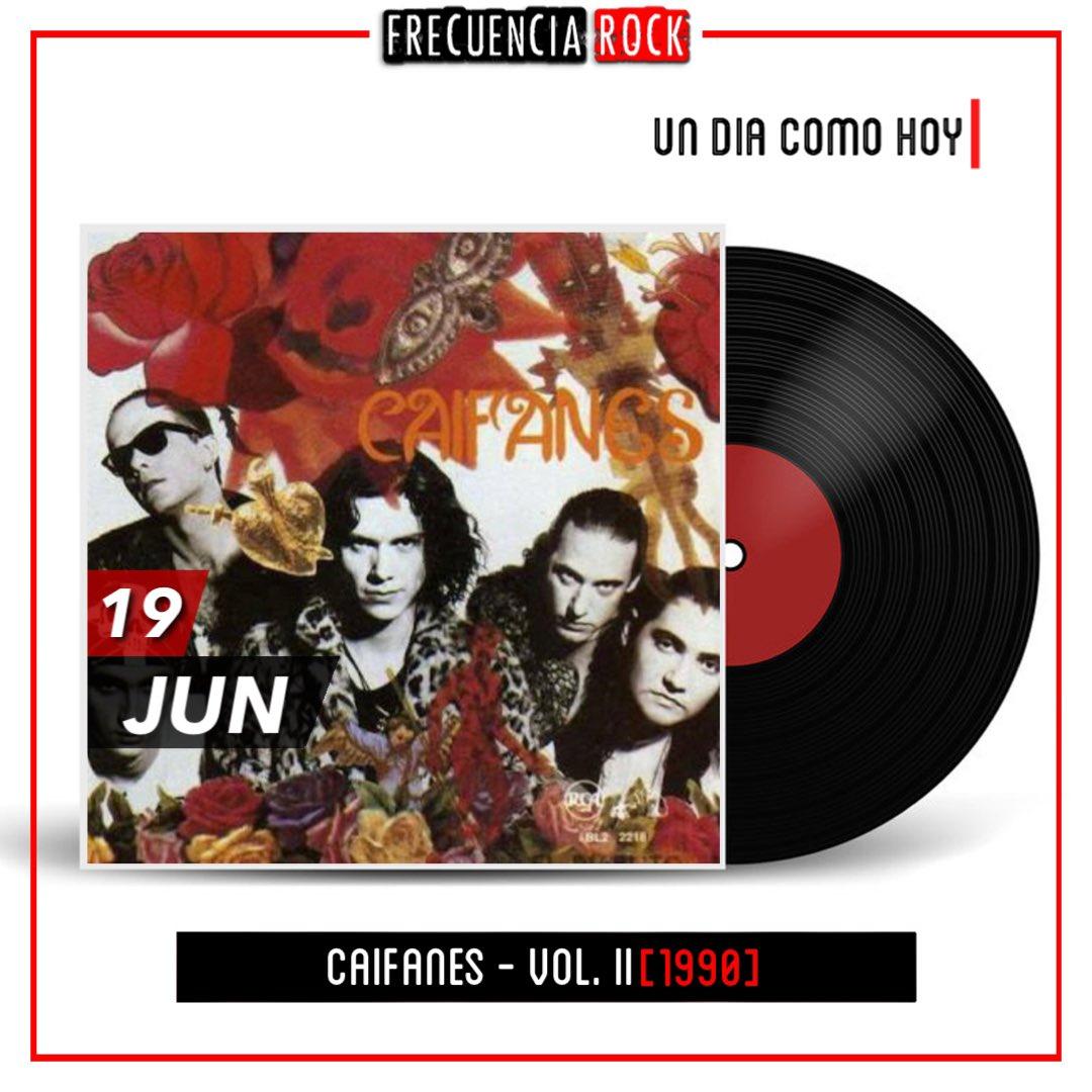 """[Un Dia Como Hoy]: Hace 31 años, Caifanes publica """"Vol. II"""" / """"El Diablito"""" • • • • #hace31años #frecuenciarock #efemerides #rocknroll #restrospect #undiacomohoy #musichistory #onthisday #bands #album #musica #musicfacts #discografia #caifanes #eldiablito #vol2 #rockenespañol https://t.co/X4sE5odkqs"""