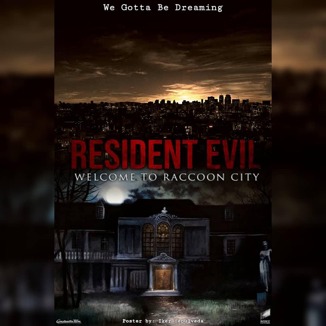 You cant kill me! . . . #ResidentEvil #residentevilmovie #residentevilwelcometoraccooncity #residentevilreboot #fanmade #fanposter #fanart #poster #biohazard #videogames @ResidentEvil @RE_Games https://t.co/MCm15k3BGe