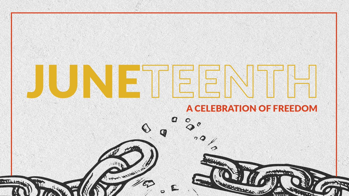156 years ago, General Granger proclaimed freedom for slaves in Texas, ending slavery within the United States.  Today, we reflect on the dark history and celebrate how Americans can come together. #Juneteenth https://t.co/uBQWAvQMZ5