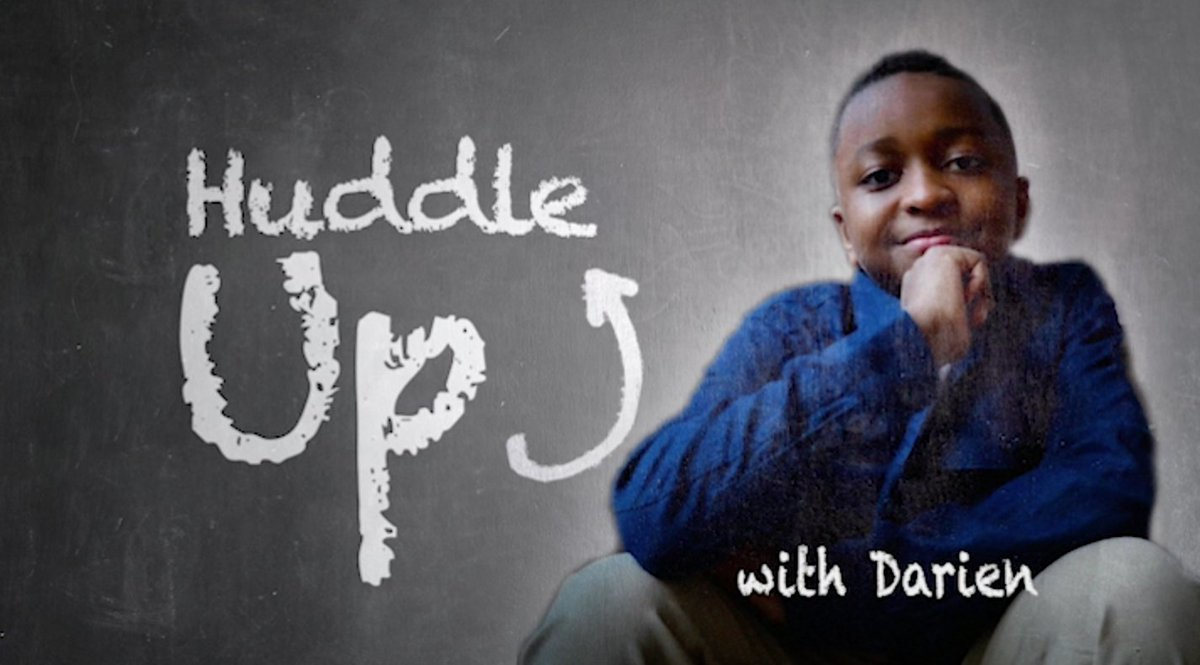 HUDDLE UP, it's time to talk about #Juneteenth with Darien https://t.co/G2FNCdidRQ