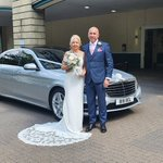 Image for the Tweet beginning: Congratulations to Louise and Steven