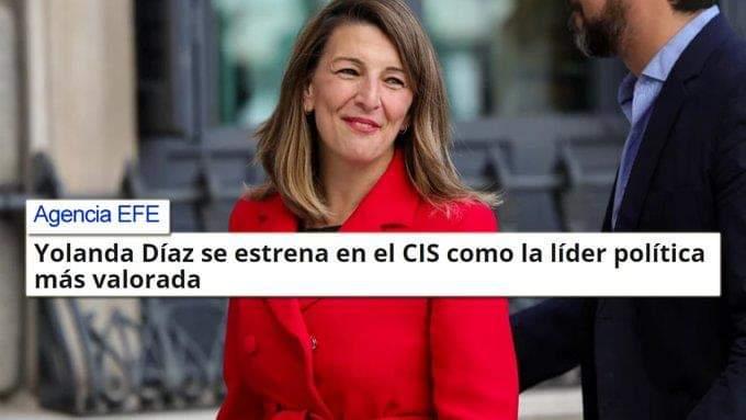 RT @catalinaventur2: @Speed_VCC1931 @Yolanda_Diaz_ Pued siiii la Mejor‼️ https://t.co/CafMt0m0CY